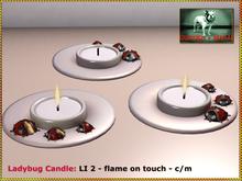 Bliensen + MaiTai - Ladybug Candle
