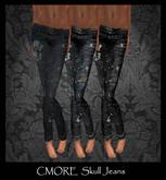 CMORE - Skull Jeans