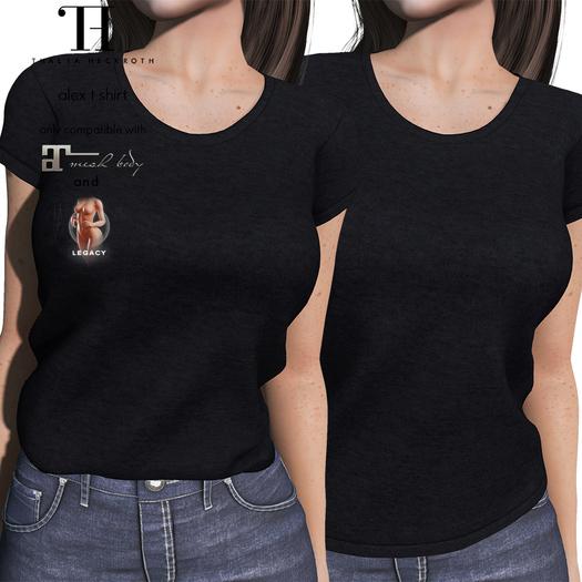 Thalia Heckroth - Alex T-shirt BLACK