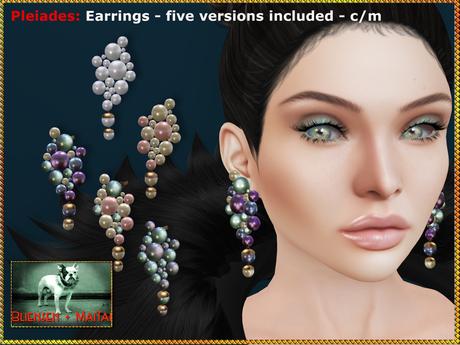 Bliensen + MaiTai - Pleiades - earrings