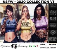 [ gi ] Kait Tee - 2020 NSFW v1 - Black < add me >