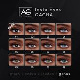 AG. Insta Eyes Gacha - Genus - 01 RARE