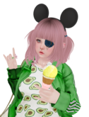 sue cream. yummy ice cream gacha - cone 2