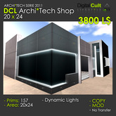 *** DCL Archi*Tech SHOP 20x24