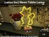 [satus Inc] Neon Table Lamp Cat