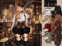 =Zenith=Steampunk Doll Dress (ALL) Maitreya / Legacy