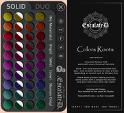 .EscalateD. Colors Roots Universal HUD