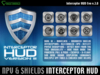 Interceptor HUD Evolution III - Superior shields & Protections