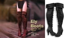 UNA. Elys Boots Black