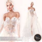 .:FlowerDreams:.Princess Turandot - white (appliers included)