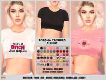 [hh] Porsha Cropped T-Shirt