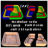 [zz] Modular Sofa Full Pern 100% mesh 1Li each piece