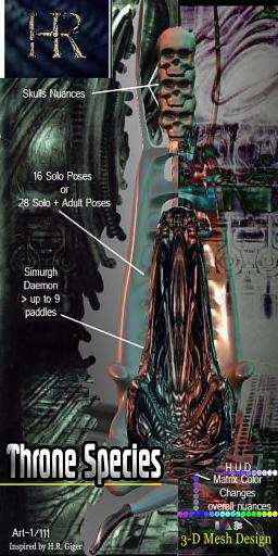 H.R. Throne SPECIES