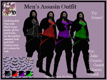 Men's Assassin Outfit (ADD ME)