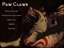 Regalia Paw Claws