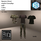 Signiture Gianni Camouflage  outfit-box