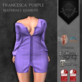 **Mistique** Francesca Purple {wear me and click to unpack)
