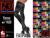 Nasty Dreams - Vanya Latex Boots Fatpack