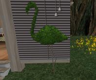 Sway's [Animal] Topiary . Flamingo no lights