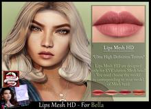 *!* Lips-Mesh HD -for Bella mesh head