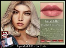 *!* Lips-Mesh HD -for Chris mesh head