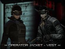 [P.0.E] - Operator Jacket + Vest