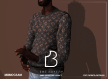 -TB- Monogram Fleece
