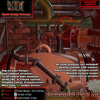 KDC Industrial Pipe Kit