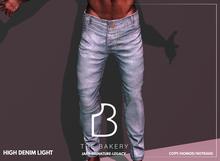 -TB- High Denim Jeans - Light