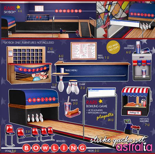 Astralia - Strike (rental desk)