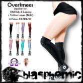 BLASPHEMIC - Overknees FATPACK