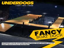 [UnderDogs] - Fancy Boat Dock -  Mesh