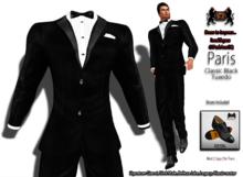 69ParkAveGQ Parris - Classic Black Tuxedo