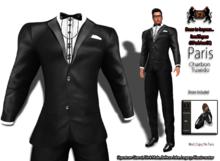 69ParkAveGQ Paris - Charbon Tuxedo