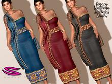 ::Smexy:: Songket Tapis Dress