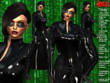 **TRINITY MATRIX STYLE COMPLET OUTFIT **
