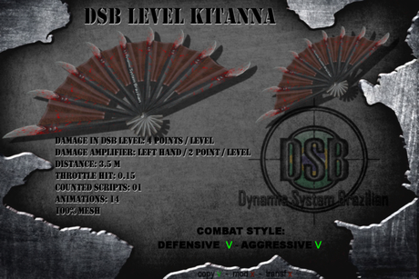 DSB LEVEL  KITANNA v1.3 BOX