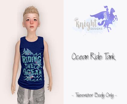 [KNIGHT DESIGNS] OCEAN RIDE TANK - TWEENSTER