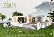 inVerse MESH -La Digue- hi- definition LOW LI furnished modern tropical house villa