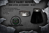 DSB LEVEL Belt Skirt Armor  Black Male v1.1 Box