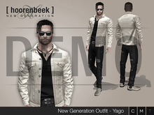 Complete Outfit - Yago - Signature, Belleza, SLink, Classic Avatar - DEMO
