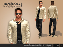 Complete Outfit - Yago - Signature, Belleza, SLink, Classic Avatar