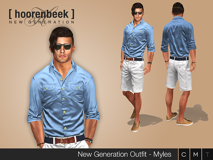 Complete Outfit - Myles - Signature, Belleza, SLink, Classic Avatar