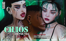 CHAOS // DIE FOR YOU, only you - Face Tattoo
