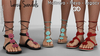FashionNatic - Larcy Sandals Fatpack