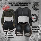 SW - Steampunk Outfit Urban Punk Female Jomo (no-robotic)(Box)