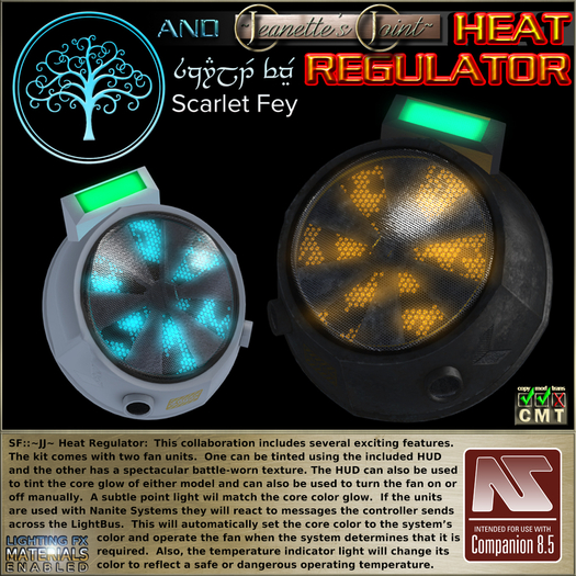 SF::~JJ~ Heat Regulator