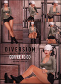 Diversion - Coffee To Go Poses (Wear To Unpack)