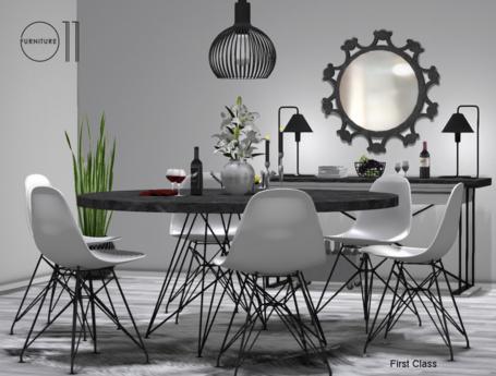 Dining room Vista  - PG - 88 animations