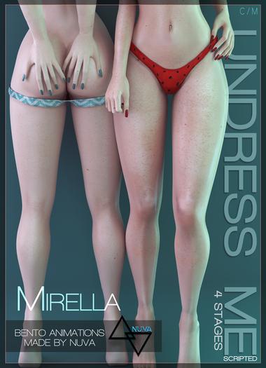 [I<3F] - Mirella [undress me] - Fatpack